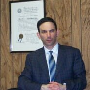 Attorney Richard Altman in his office - legal representation in Bronx, NY
